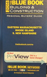 The Blue Book Building & Condtruction 2014 (Eastern Massachusetts Rhode Island S. New Hampshire)